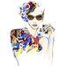 Fashion Girl Nail Art