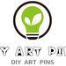 DIY ART PINS