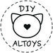 Toys DIY Sewing patterns for dolls & stuffed animals by Altoys