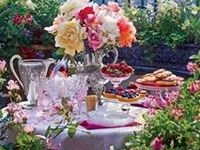 Recipes. Place Settings. Tea and Cocktail Drinks. Inspiring Food Ideas. Buffets and Decorations for your Garden Party (Weddings, Buffets, Afternoon Teas in the garden or just fun family gatherings) Please feel welcome to also visit ; A Country Dinner, A Summer Soiree, An Afternoon Tea Party, Tea Time, Morning Tea Morsels and  A Christmas Tea.
