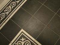 44 best images about painting tile staining concrete on for Can you paint floor tiles