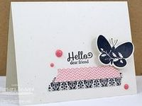 Cards with Washi Tape/Georgeous Grunge