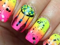 Beautiful manis and some pic tutorials