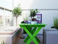 Small patio design