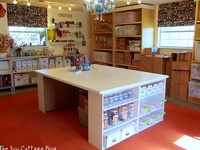 sewing room decorating ideas