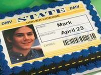 Driver's License 16th Party