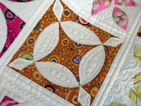 One day I will make a Dear Jane.. I know I want it to be non-traditional..thinking Black and Brights Bold colors.. and lots of Batiks..