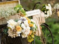 Great inspiration for any bride who wants a wedding in the country or on a farm.