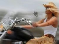 Real girls ride their own bike