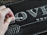The best Chalkboard ideas and how to's