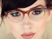 Girls Wearing Glasses On Pinterest Eyeglasses Glasses
