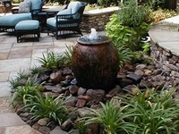 Welcome to landscaping fountains and water bubblers. Don't forget to check out our waterfall ideas in our other boards. We have lots of landscaping categories with great ideas for your yard. Thanks for stopping by Dream Yard's Pinterest boards.
