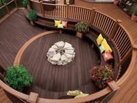Welcome to Dream Yard's Pinterest board of deck pictures. Hopefully you will find some great deck landscaping ideas for your home projects. Thanks for visiting us and hopefully you get a chance to check out some of our other landscaping boards.