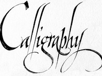 Font Fever...Calligraphy.... Graphic Design