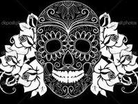 178 Best Dia De Los Muertos Black And White Art Images On