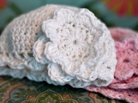crochet- cover their tiny ears and tush