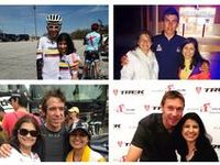 Paracycling & Cycling / A collage of paracycling and cyclist from all over the world with a special place for the Colombian Cyclist