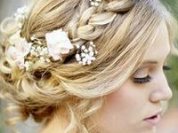 Bridal Hairstyles + Makeup