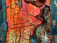 Texture, Rust & Color