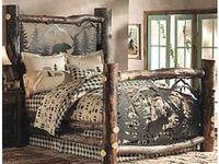 DIY rustic logs crafts & furniture