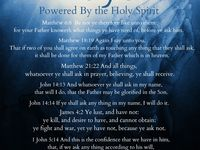 Prayers and scriptures to keep me going