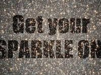 I hate things that sparkle. Said no woman ever. A little can go a long way but if you just can't get enough then enjoy the glitter, rhinestones, sequins & all things glitzy!