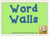 Teaching - Word Wall