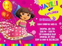 Dora 4th Fiesta Bday