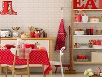 Kitchen On Pinterest Red Country Kitchens Country Style Kitchens