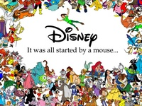 """Disney """"It started with a Mouse"""""""