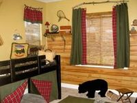Camping/Outdoors theme bedroom