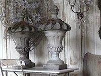 urns en tuinvazen....