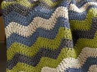 236 best крючок: Паттерны (волны) images on Pinterest | Yarns, Crochet stitches and Bedspreads