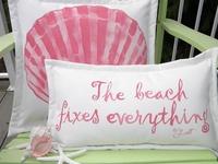 Living on the Beach, ideas and craft ideas.