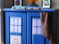 """Decor for the Doctor Who fan!I I have separate boards for Star Wars and Comic inspired decor. I also have a miscellaneous """"geek decor"""" board."""