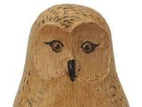 See my other board Favorite Things - Beautiful Handicrafts for more owl inspiration.