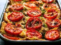 ...   Egg white frittata, Butternut squash lasagna and Spinach lasagna