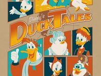 Mostly Saturday Morning and Afternoon Cartoons from the '80s and '90s, like DuckTales and Darkwing Duck.