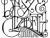 design: lettering / typography