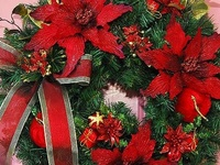 Christmas..Wreaths/Swags