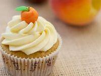 ... | Peach Cupcakes, Peach Cobbler Cupcakes and Brown Sugar Frosting