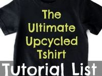 The motherload of tutorials to refashion and/or reimagine your unwanted or worn out tshirts into something new.
