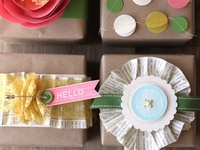 gift ideas, party ideas, beautiful wrappings and cards