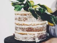 Obsessed. Completely.   Currently loving: angel cakes, quirky naked cakes, herbs in cakes, mini cakes.