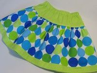 SEWING~LITTLE GIRL SKIRTS