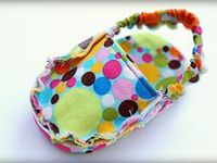 SEWING~BABIES SHOES!!