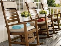 Chaise ber ante on pinterest rocking chairs rockers and for Chaise bercante