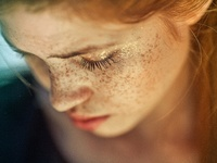 for-redheads - freckles