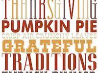 Holidays - Thanksgiving Printables