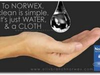 Clean with JUST water and a cloth using Norwex! To find out more information, you can contact me at www.lizkexel.norwex.biz or find me on Facebook at Liz Kexel- Norwex Independent Sales Consultant!